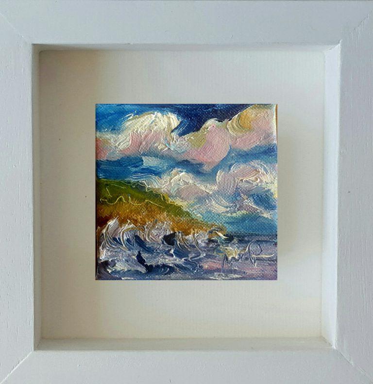 Stormy Seacliffs, Kilmicheal Point, Wexford
