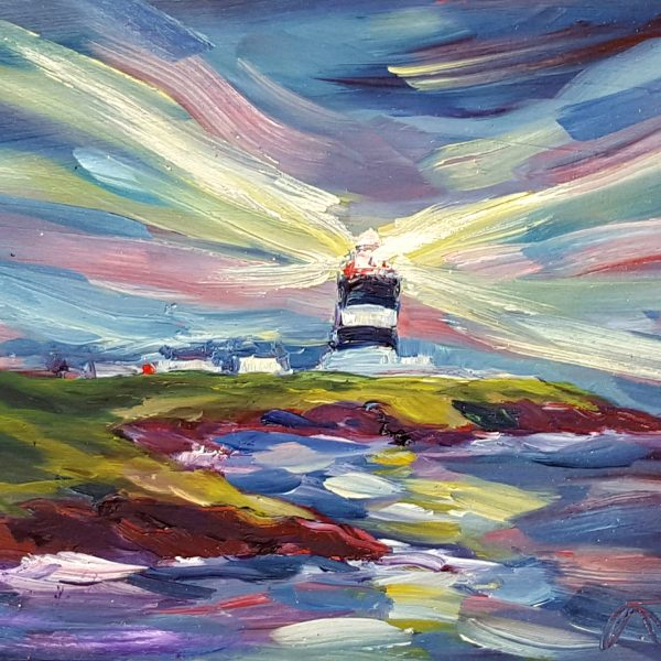 The light of Hook Head shines brightly