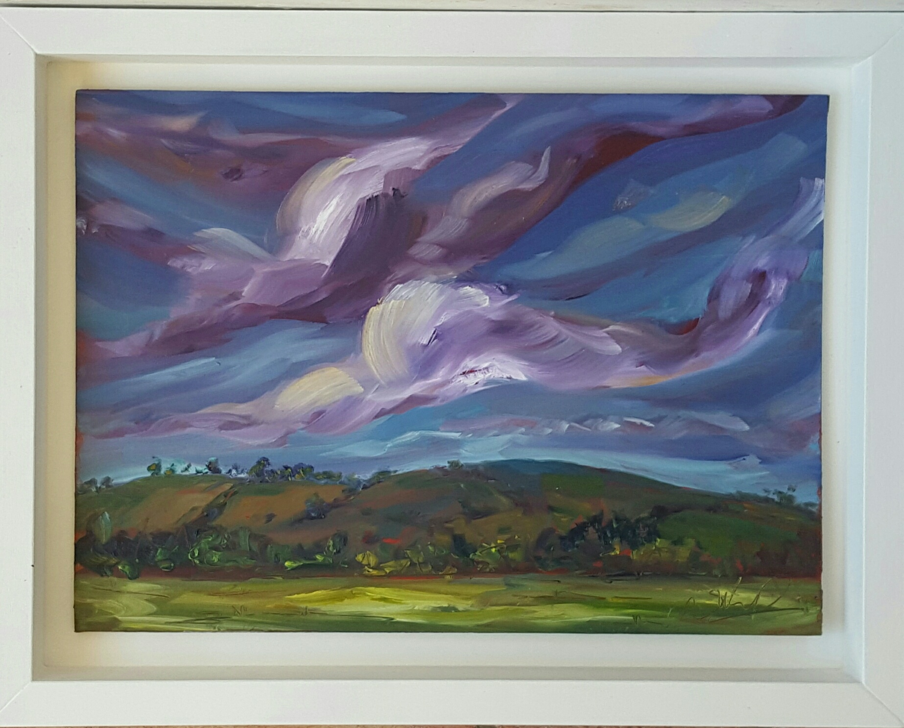 Green Fields & Lavender Skies