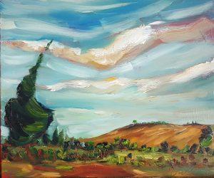 Blue Skies & Golden Fields