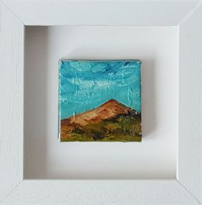 Blue skies of Summer over Croghan mountain