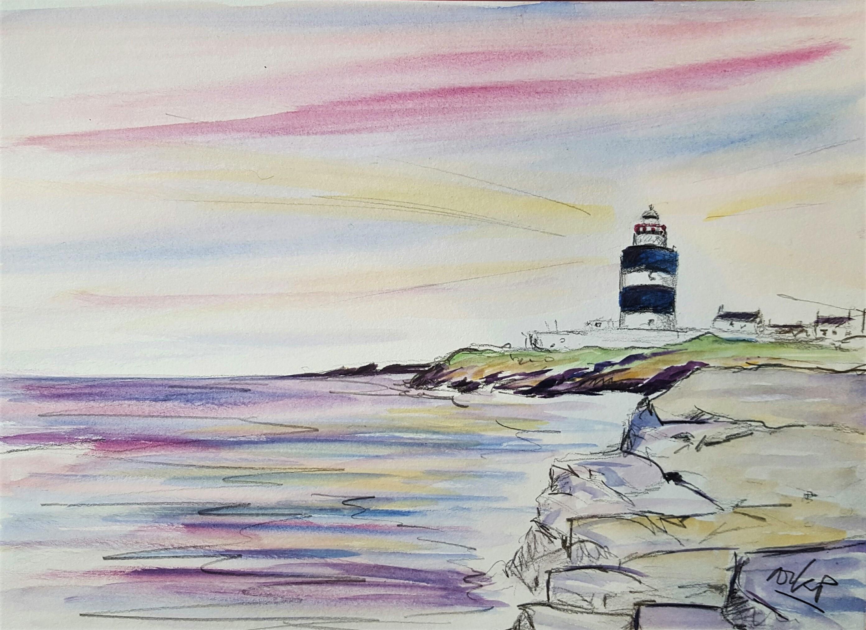 Hook Head Lighthouse at Dawn