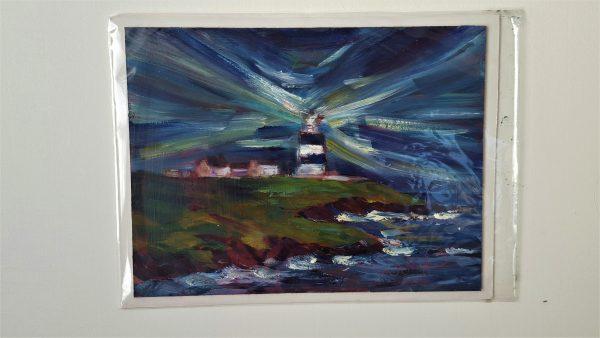 Night Falls over Hook Head Lighthouse