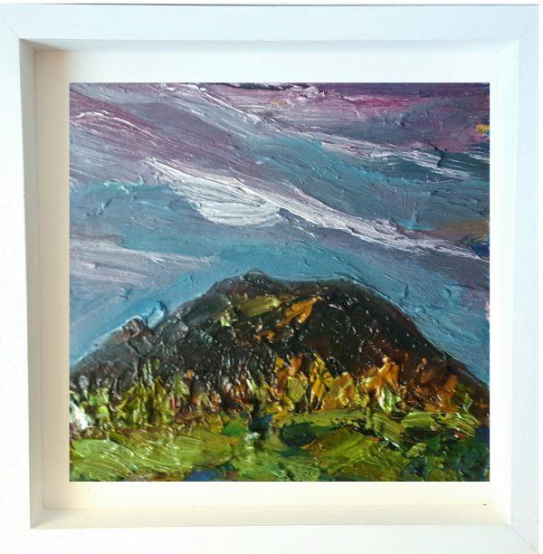 Twilight over Tara Hill