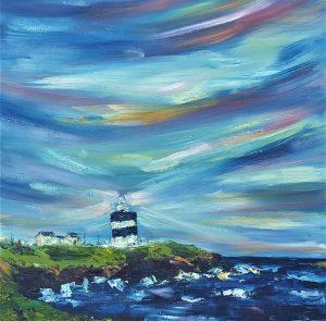 Sunrise over Head Lighthouse, Wexford Ireland