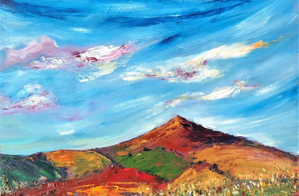 Dancing Clouds and breezy skies over Croghan Mountain