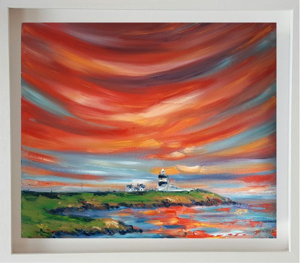 Blazing Skies - Sunset over Hook Head Lighthouse